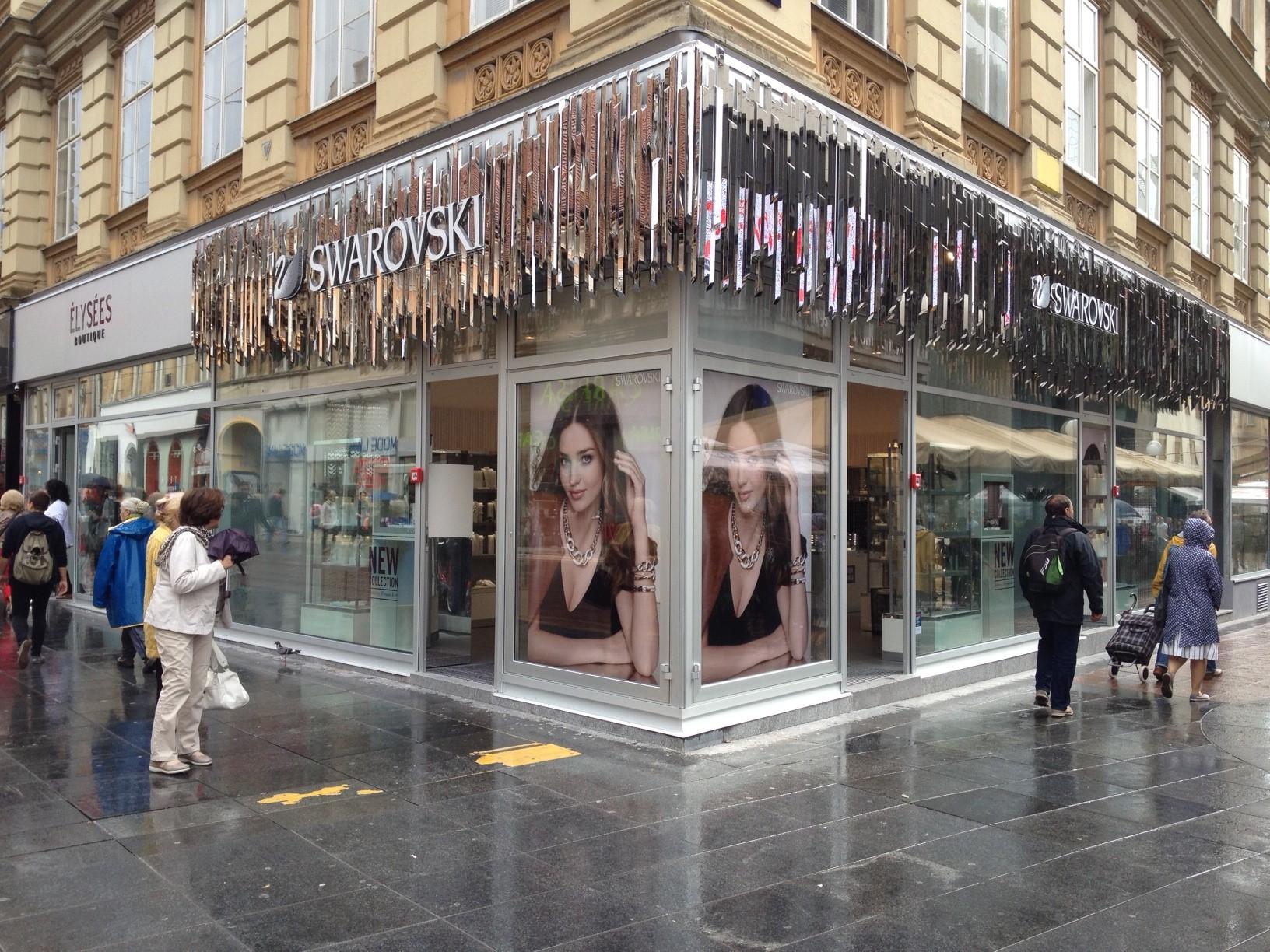 Otirači za trgovinu SWAROVSKI u Zagrebu..