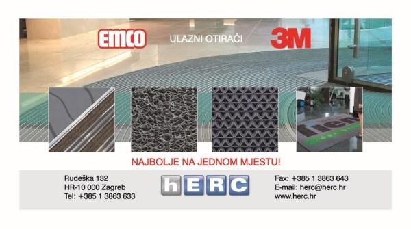 Emco & 3M – Najbolji ulazni otirači na jednom mjestu !