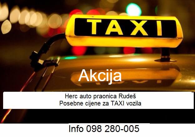 Posebne cijene za taxi vozila