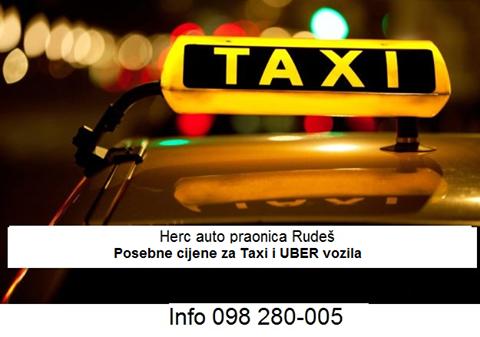 Posebne cijene za taxi vozače!