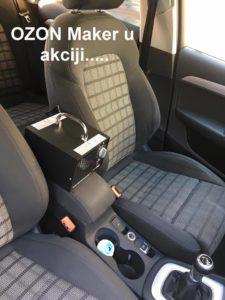 NOVO: Usluga dezinfekcije vozila Ozonom