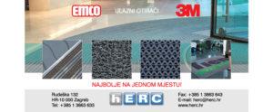 EMCO 3 ZONE ČIŠĆENJA – Optimalna kombinacija za uklanjanje nečistoće