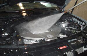 Pranje motornog prostora